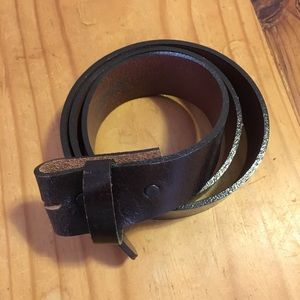 Other - Italian Leather Belt Strap.